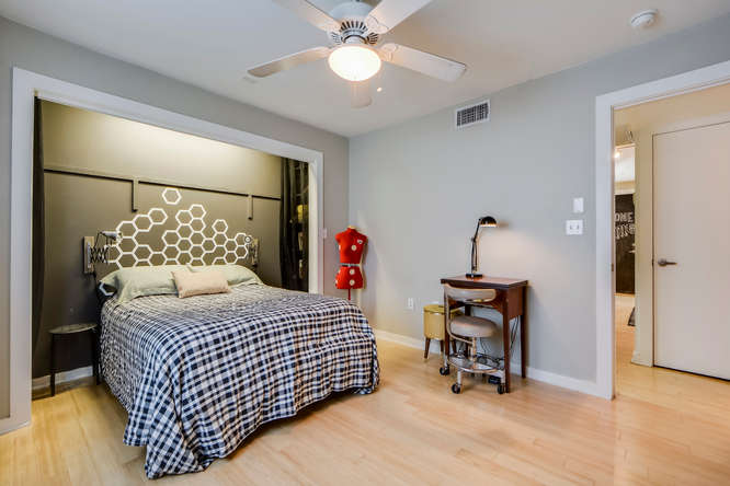2200 Dickson Dr Unit 125 Austin TX 78704 Master Bedroom