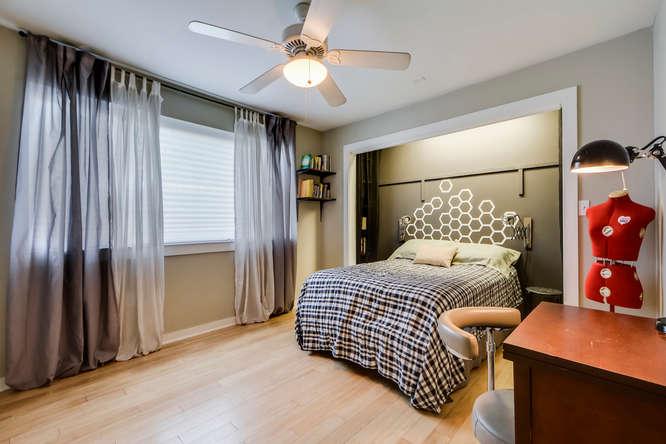 Akoya Master bedroom 2200 Dickson Dr Unit 125 Austin, TX 78704