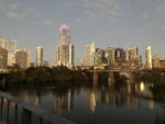 City of Austin downtown at twilight